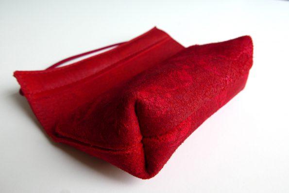 Miontas etui in rood leer