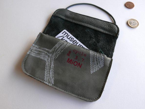 Miontas grijze portemonnee